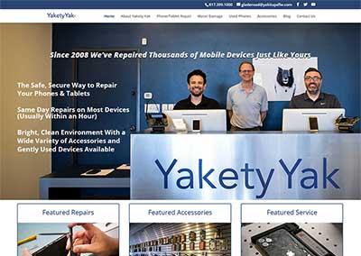 WordPress Website:  Yakety Yak