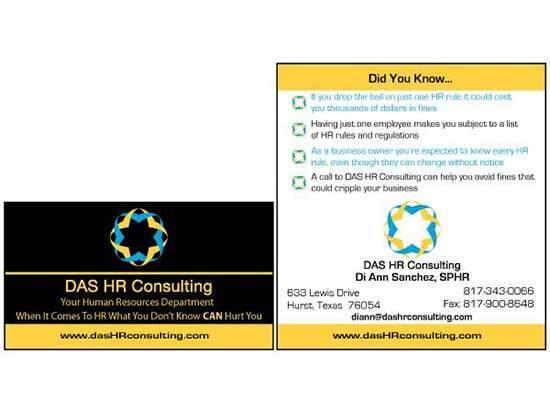 Marketing Materials: DAS HR Consulting