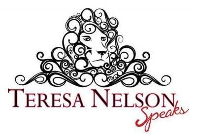 Logo Design & Branding:   Teresa Nelson Speaks