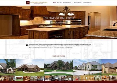 WordPress Website:  Don Holmes Custom Homes