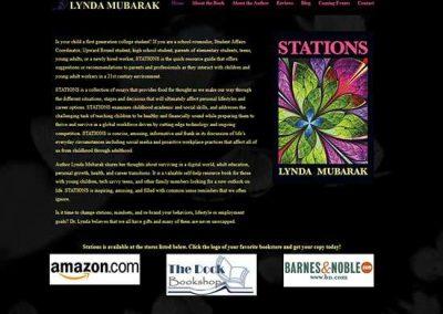 WordPress Website:  Lynda Mubarak