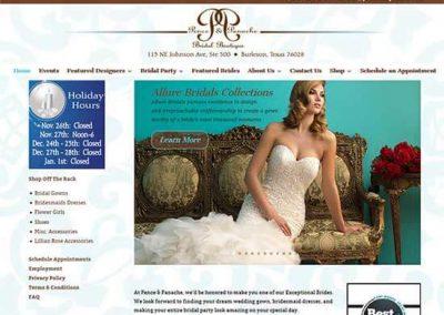 WordPress Website:  Pence and Panache