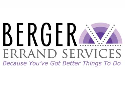 Logo Design & Branding:   Berger Errand Services