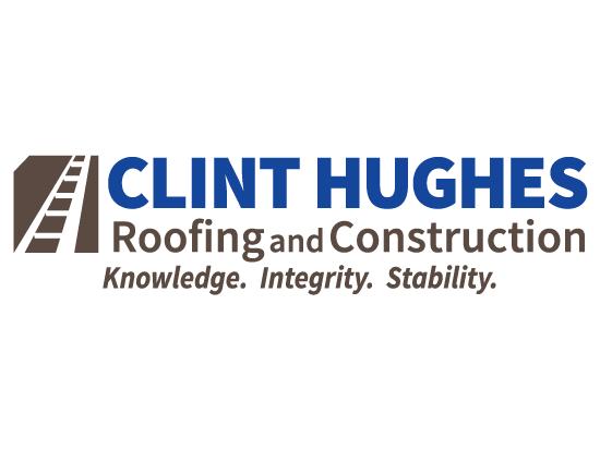 Logo Design & Branding:   Clint Hughes Roofing