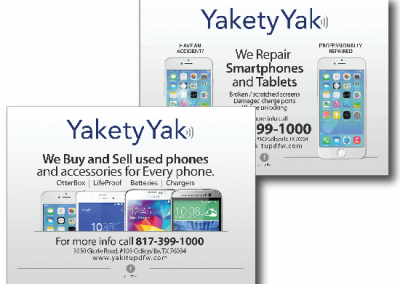 Marketing Materials:  Yakety Yak